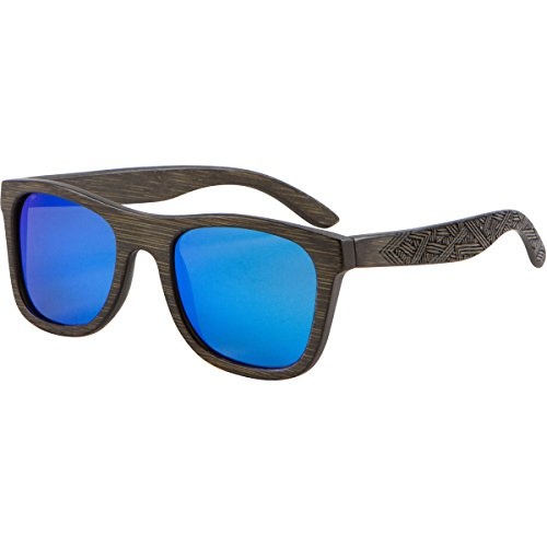 Shiner Bamboo Wood Sunglasses