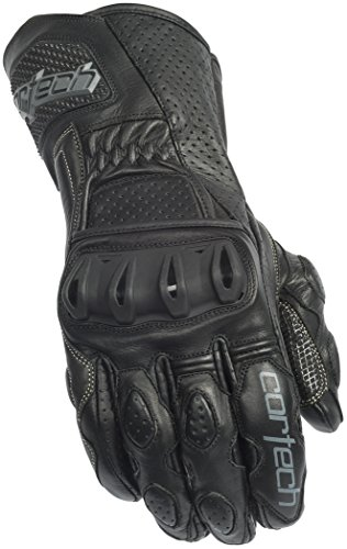 Icon Motorcycle Gloves Icon - Cortech Latigo 2 RR Motorcycle Gloves Black/Black Extra Large XL 8391020507