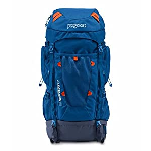 JanSport Katahdin 70L Backpack - 4270cu in Midnight Sky/Navy Moonshine, One Size