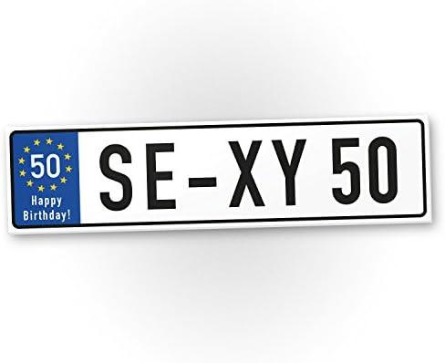 DankeDir!. Sexy 50 años Cartel de plástico años – Regalo de 50º cumpleaños, Regalo Idea Regalo de cumpleaños fünzigsten, cumpleaños ...