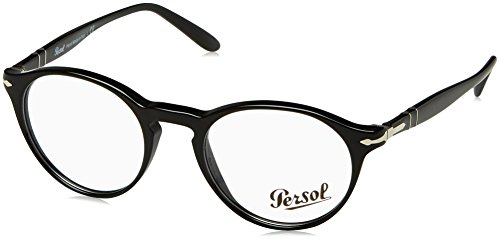Persol PO3092V Eyeglasses 9014 Black w/ Demo Lens 48mm
