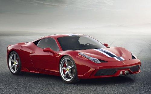 2014 Ferrari 458 Speciale 24X36 Poster Banner - Ferrari Specials