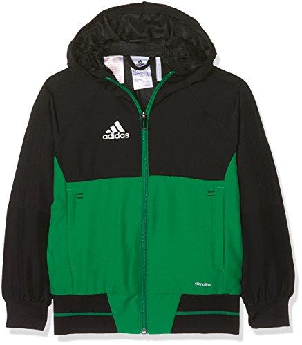 Tiro Jacket Boy Nero 17 verde Adidas bianco Pxzw6azq