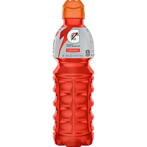 - Gatorade Thirst Quencher, Fruit Punch, 24 Count, 24 oz Bottles