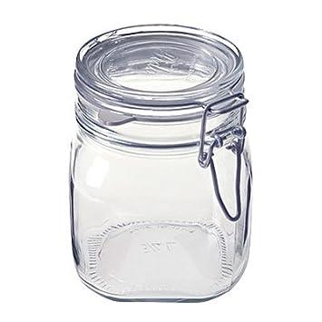 無印良品ソーダガラスJar w /気密シールストレージ食品セーバー750 ml