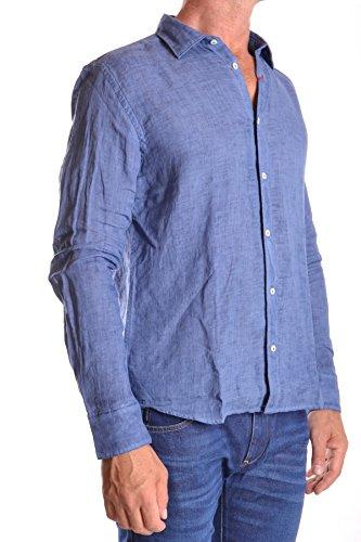 Altea Camicia Uomo MCBI016013O Lino Blu