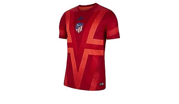Nike ATM Dry SS Pmv Cl Camiseta Atlético de Madrid, Hombre, Gym ...