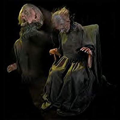 BACK FROM THE GRAVE Rockin Granny Animatronic Haunted House Halloween Horror Prop