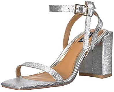 Jaggar Essential Lizard Heel, Womens Shoes, Silver (Silver), Women (36 EU)