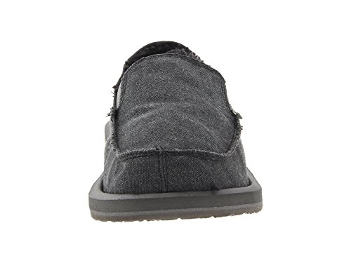 Sanuk Men's Vagabond Chill Slip-On .Charcoal. for nice footlocker cheap price outlet best place huge surprise for sale mmNGHGt