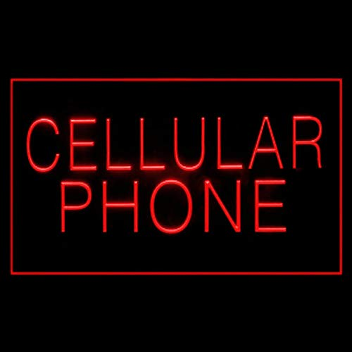 200087 Cellular Mobile Phone Call Antenna Display LED Light Sign