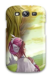 Galaxy S3 Hard Back With Bumper Silicone Gel Tpu Case Cover Atelier Totori