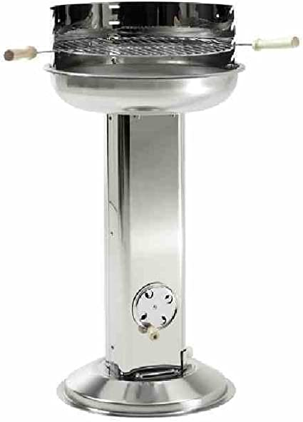 Grillchef 11242 Barbecue colonne rond, 43cm de diamètre