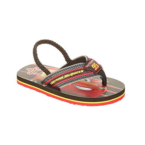 Price comparison product image ACI Cars Lightning McQueen Boys Beach Sandals Summer Flip Flops (7/8)
