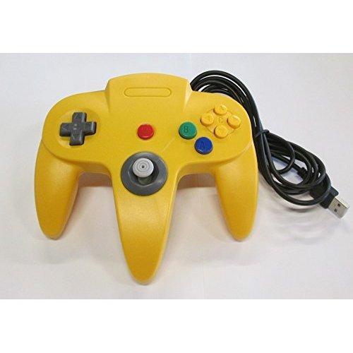 Nintendo N64 USB Controller for Windows/Mac/Linux - Yellow -