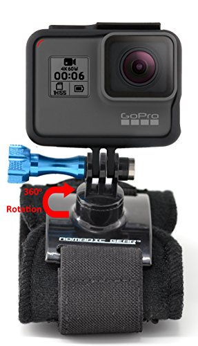 Nomadic Gear 360 Degree Rotating Wrist Strap Hand Mount with Thumb Screw for GoPro, Sony Action Cam, Nikon, Garmin, Ricoh Action Cam, SJCAM | Epic Photo Shooting 101 ebook