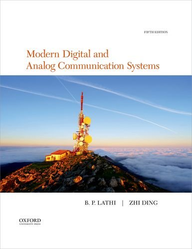 Analog Digital Systems - Modern Digital and Analog Communication (The Oxford Series in Electrical and Computer Engineering)