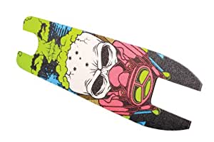 Madd Gear Shock End of Days Grip Tape with 10 Stickers (Green)