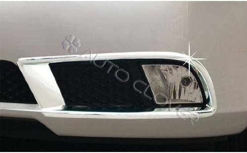 All New Cerato AUTOCLOVER B617 Chrome Fog Light Lamp Cover Molding Trim 2-pc Set For 2008 2009 2010 2011 2012 Kia Forte