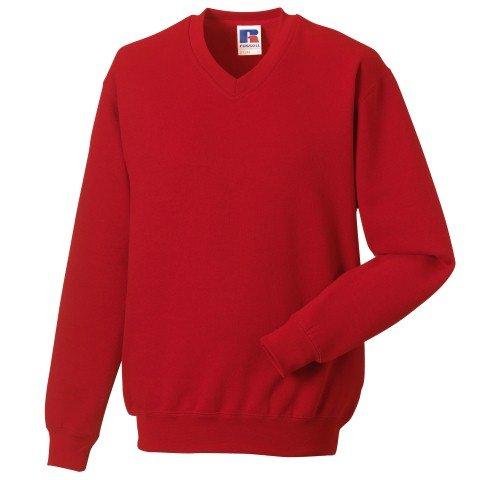 Russell Athletic V-Neck Sweatshirt - 1