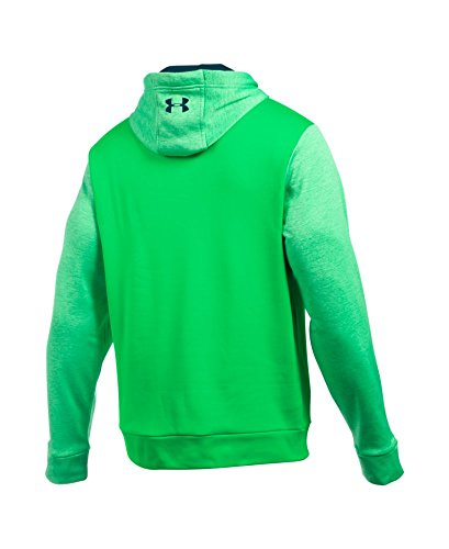 Under Armour Men's Storm Armour Fleece Icon Twist Hoodie Northern Lights/Nova Teal/Nova Teal Medium by Under Armour (Image #1)