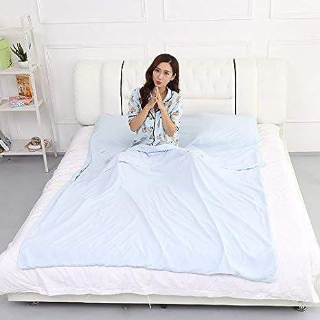 Decoración de la sala WX-B36 Saco de dormir para exteriores Liner Pongee Bolsa de