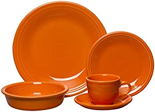 product image for Fiesta 5-Piece Place Setting, Tangerine