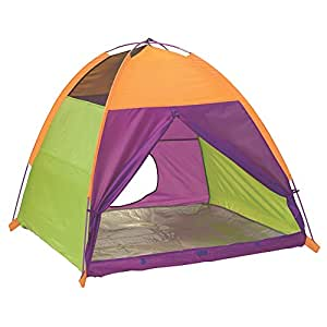 """Pacific Play Tents Kids My Tent Dome Tent for Indoor / Outdoor Fun - 48"""" x 48"""" x 42"""""""
