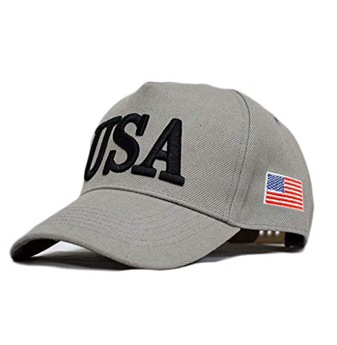 Engmoo Trump MAGA Hat Keep America Great Hat Trump Hat 2020Slogan with USA Flag Cap ()