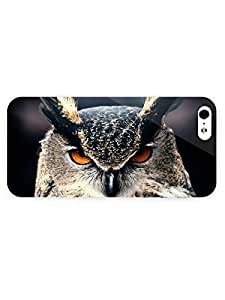 3d Full Wrap Case for iPhone 5/5s Animal Eagle Owl