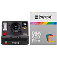 Polaroid Originals 9009 OneStep 2 Viewfinder Instant Film Camera w/4673 Instant B&W Film with Color Frames