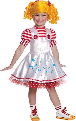 [Lalaloopsy Spot Splatter Splash Costume (Small)] (Lalaloopsy Adult Costumes)