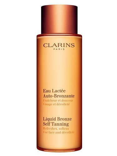 (Clarins Liquid Bronze Self-Tanning For Face and Decollete - 4.2 oz)