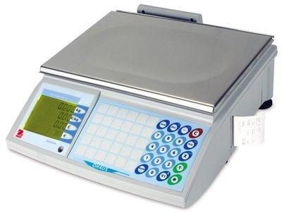 Balanza de peso precios de comercio con ticket OHAUS RS 15 kg versión sin batería: Amazon.es: Salud y cuidado personal