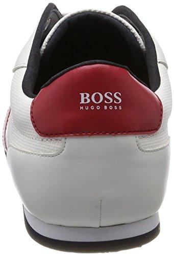 BOSS Athleisure Herren Lighter_Lowp_Drive Sneaker Weiß (White)