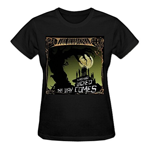 The Herbaliser Something Wicked This Way Comes Woman's T Shirt Black
