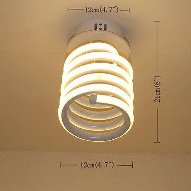 BAJIAN-LI Modern luxury Modern LED Ceiling Light Simple Aluminum Small Cap Lighting Corridor Lighting 110-120v