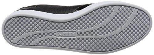 Puma Women's Match Lo Black WN's Low-Top Sneakers, White Black (Black-black-white 02)