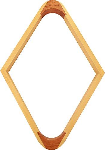 (Pro Series A23-9 Commercial Hardwood Billiard Ball Rack, 9-Ball Diamond)