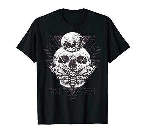 Th 4th day death head hawkmoth short sleeve moth skull - Head Tee Death