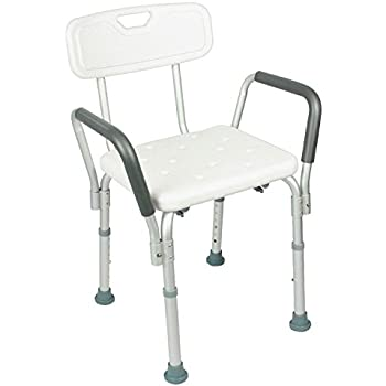 Amazon Com Essential Medical Supply Shower Bench With