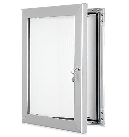 Premium Lockable Notice Board Waterproof Seal Indoor/Outdoor (40' X 60')