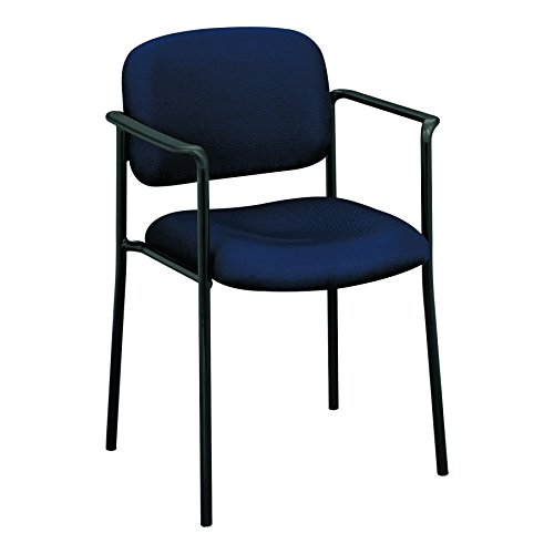 HON Scatter Guest Chair with Arms, Office Furniture, Navy (VL616) by HON