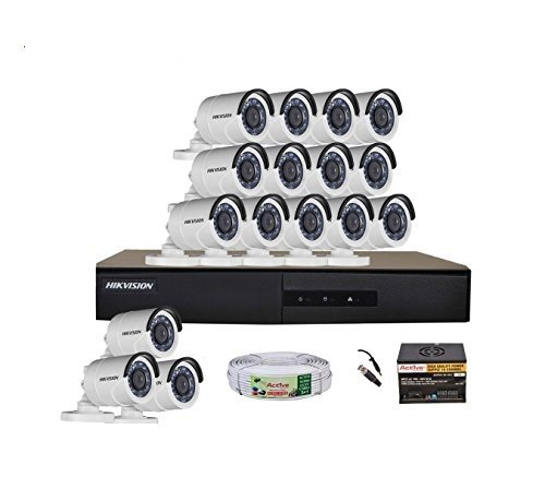 Hikvision 16 CCTV Camera DVR Kit Bullet Cameras at amazon
