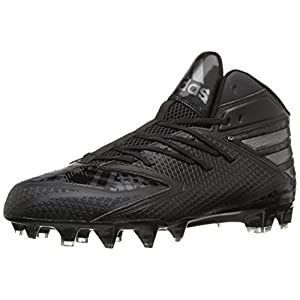 Adidas Performance Men's Freak X Carbon Mid Football Shoe, Black/Black/Black, 11.5 M US