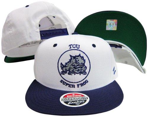 ZHATS Texas Christian Horned Frogs Snap Back Hat