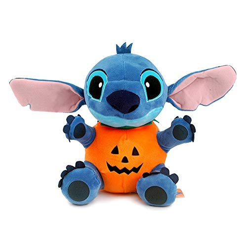 Diseny Lilo and Stitch Halloween Day Pumpkin 25cm 9.8in Plush Toy Stuffed DollListed for Charity
