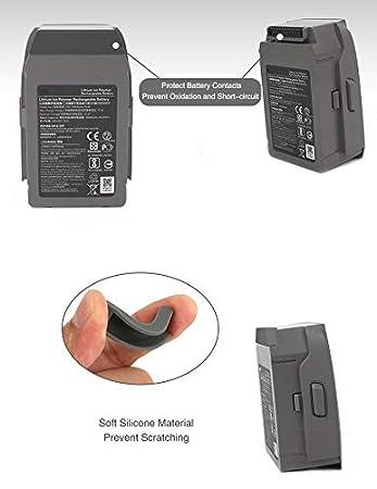 Noir pour DJI Mavic 2 Pro// Zoom Fin de Batterie Bouchon /à Poussi/ère,Chargement du Terminal de Batterie Port Plug Protector Cove Sisit