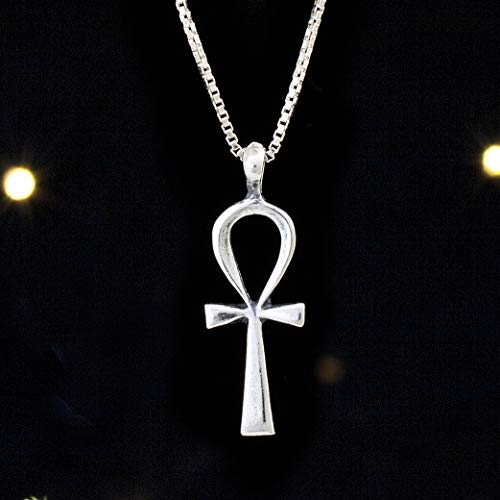 Sterling Silver Ankh - Small - (Pendant Only or Necklace)
