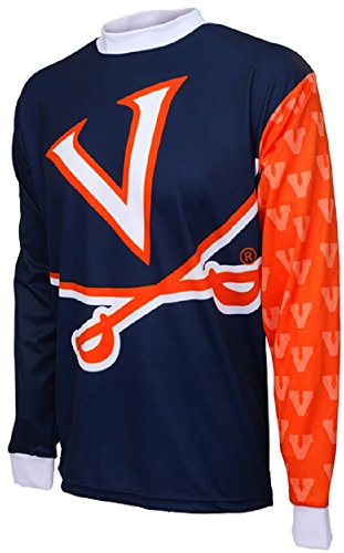 - NCAA Virginia Cavaliers Mountain Bike Cycling Jersey (Team, Large)
